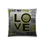 Love Movies Filmmaking | Basic Pillow - THESPIAN HEART CLOTHING