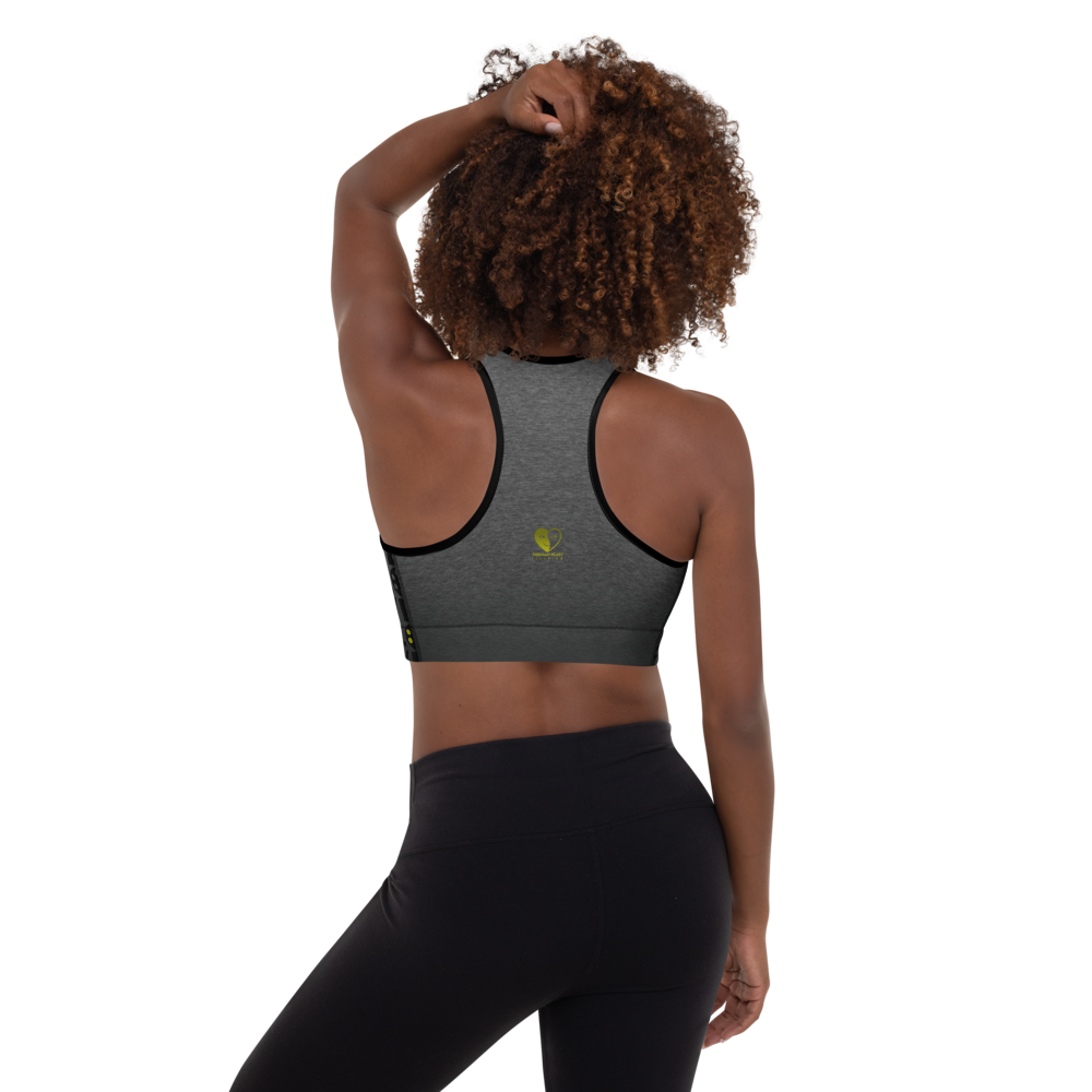 Love Filmmaking Movies | Padded Sports Bra for Yoga Running Workout - THESPIAN HEART CLOTHING