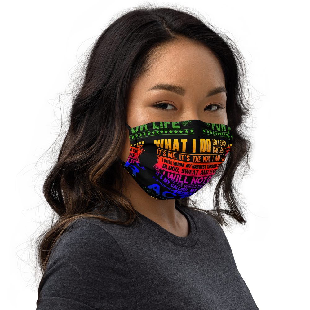 [Actor For Life] Colorful Premium face mask - Thespian Heart Clothing