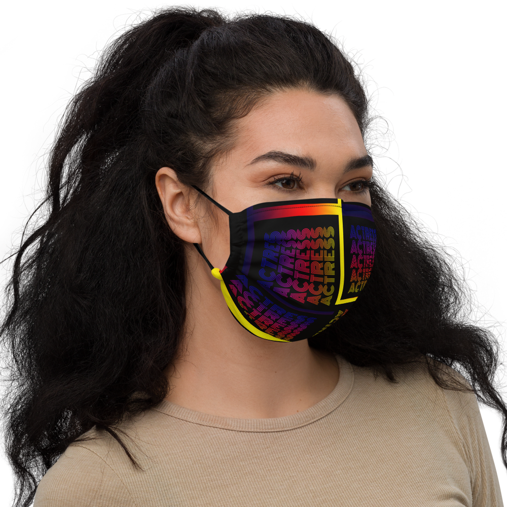 [Actress Retro] Premium face mask - THESPIAN HEART CLOTHING