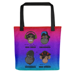 Movie Set Monkeys | Tote bag - THESPIAN HEART CLOTHING