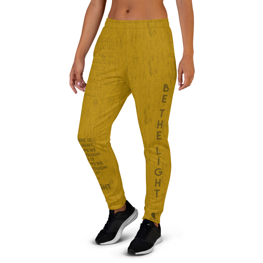 [Be The Light] Women's Joggers - THESPIAN HEART CLOTHING