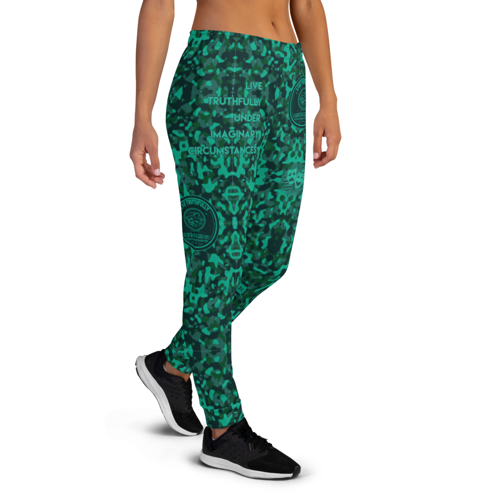 Live Truthfully Under Imaginary Circumstances | Women's Joggers