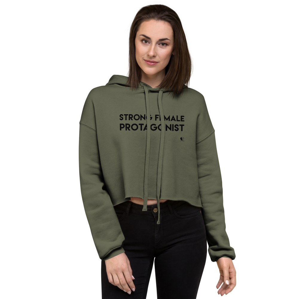 [Strong Female Protagonist] Crop Top Hoodie - THESPIAN HEART CLOTHING