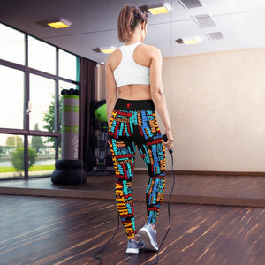 [Actor Languages] Yoga Leggings - Thespian Heart Clothing