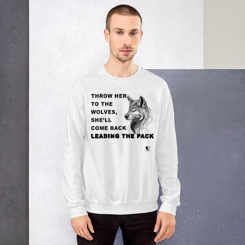 [Lead the Pack] Unisex Crewneck Sweatshirt - THESPIAN HEART CLOTHING