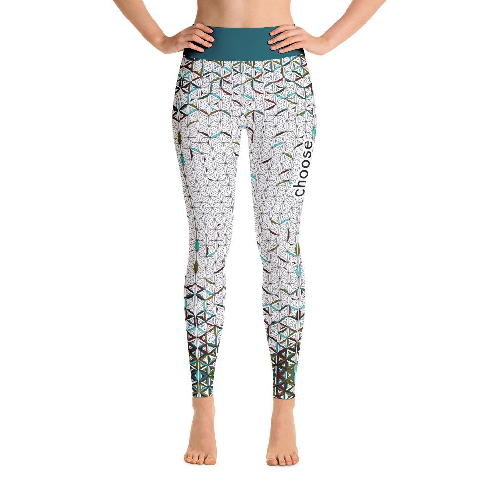 [Choose Happiness] Yoga Leggings - THESPIAN HEART CLOTHING
