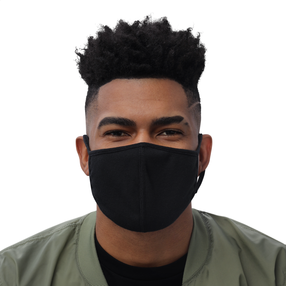 Black Face Mask (3-Pack) - THESPIAN HEART CLOTHING