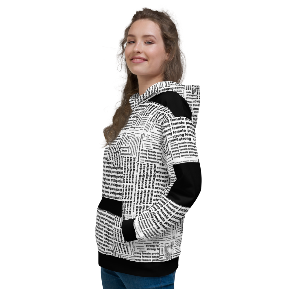 [Strong Female Protagonist] All-Over Print Unisex Hoodie - THESPIAN HEART CLOTHING