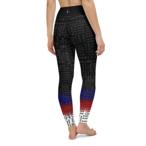 [Black Lives Matter] Yoga Leggings - Thespian Heart Clothing