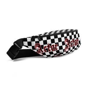 [Actor Checkered] Fanny Pack - Thespian Heart Clothing