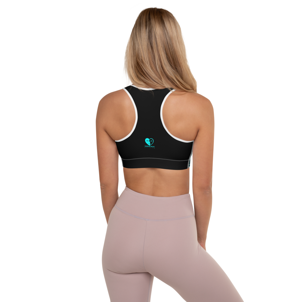 [UNL-IMI-TED Square]Padded Sports Bra - Thespian Heart Clothing
