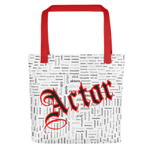 [Actor Languange] Tote bag - Thespian Heart Clothing