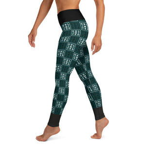 [UNL-IMI-TED Squares] Yoga Leggings - Thespian Heart Clothing