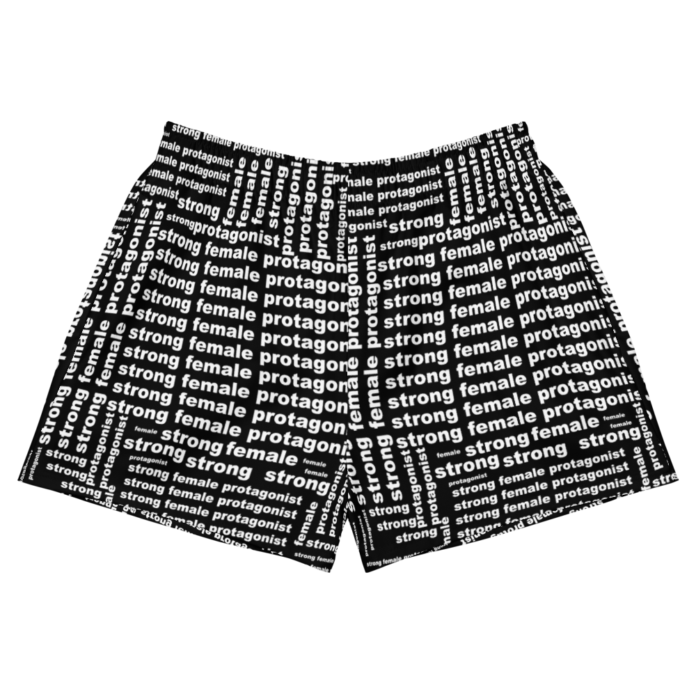 [Strong Female] Women's Athletic Short Shorts - THESPIAN HEART CLOTHING