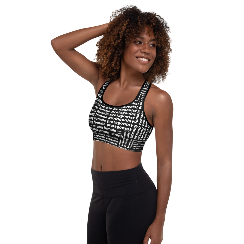 [Strong Female Protagonist] Padded Sports Bra - Thespian Heart Clothing