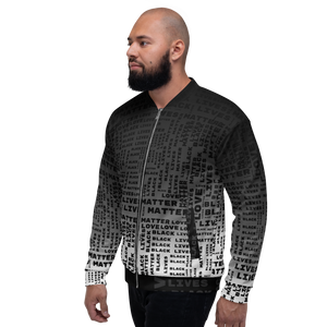 [Black Lives Matter] Unisex Bomber Jacket - THESPIAN HEART CLOTHING