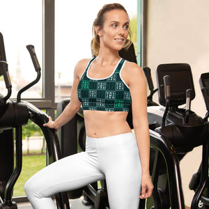 [UNL-IMI-TED Square]Padded Sports Bra