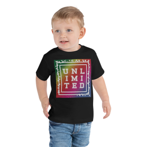 Unlimited Colorful | Toddler Short Sleeve Tee - THESPIAN HEART CLOTHING