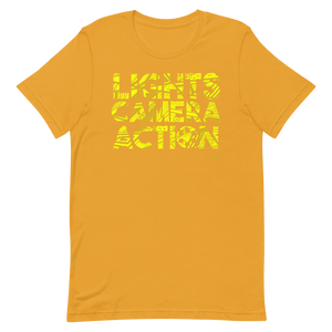 [Lights Camera Action] Short-Sleeve Unisex T-Shirt - THESPIAN HEART CLOTHING