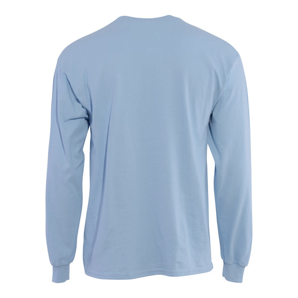 Snowman Long Sleeve (Blue)