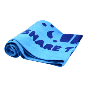 Share the Love Summer Beach Towel (Blue)
