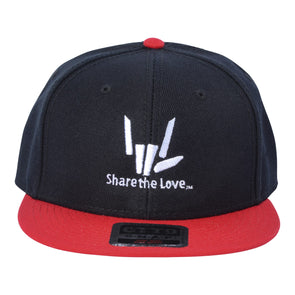 Share the Love Snapback (Red) - StephenSharer