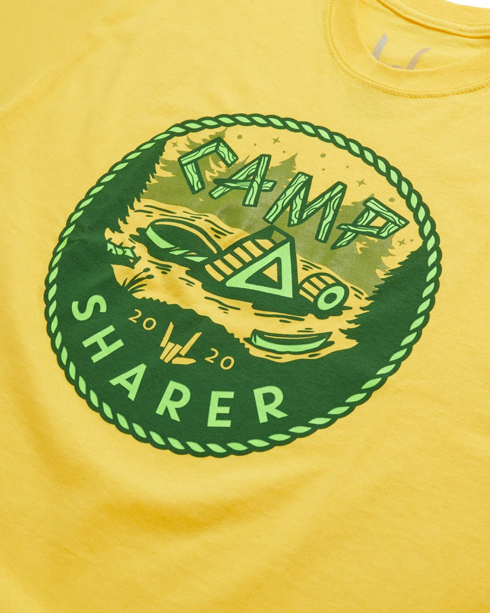 Camp Sharer Badge Tee