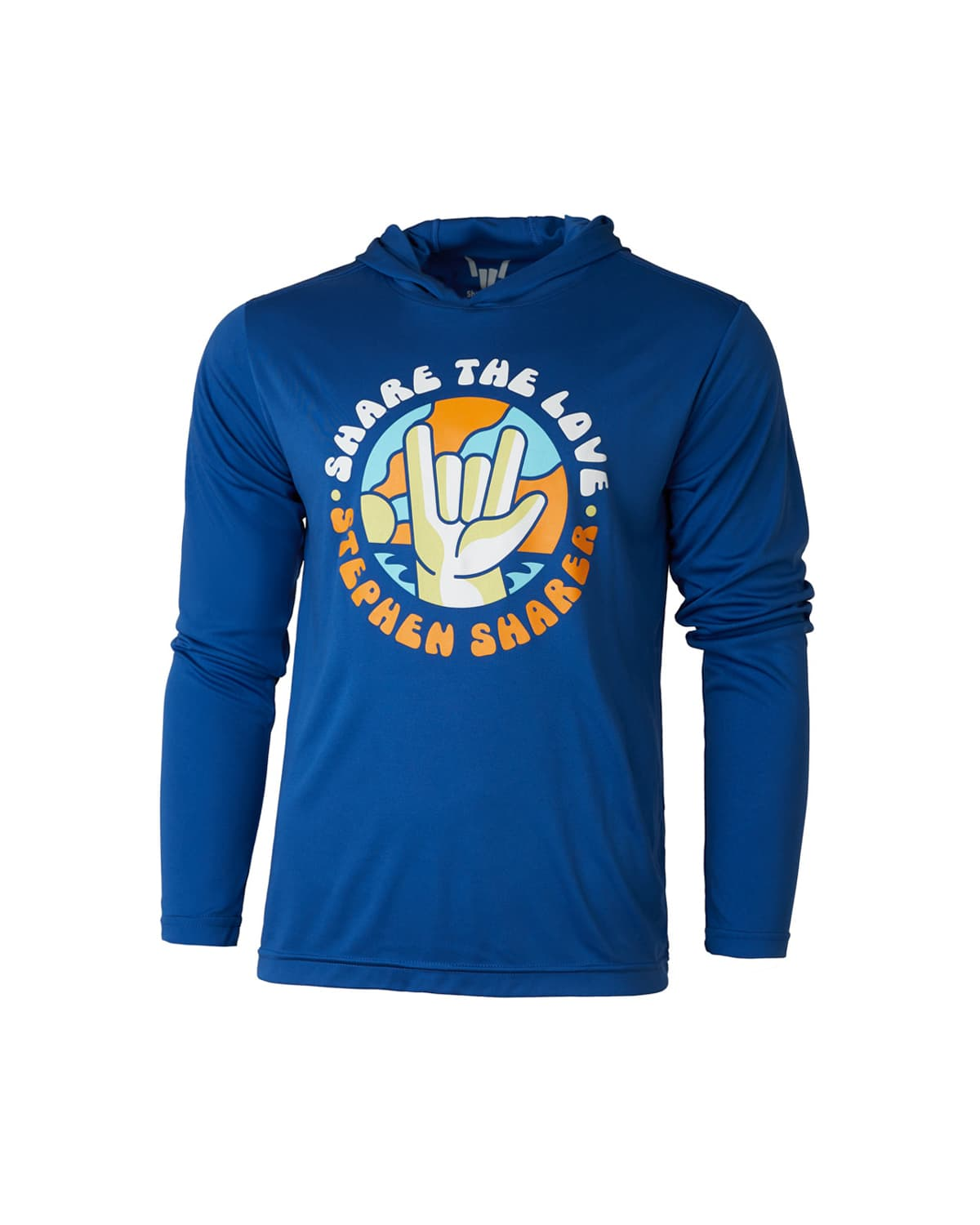 'Fun In The Sun' Hooded Long Sleeve Performance Tee