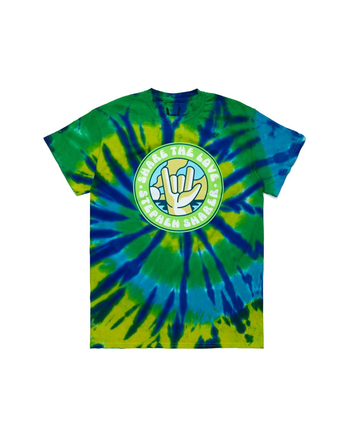 'Fun In The Sun' Tie Dye Tee
