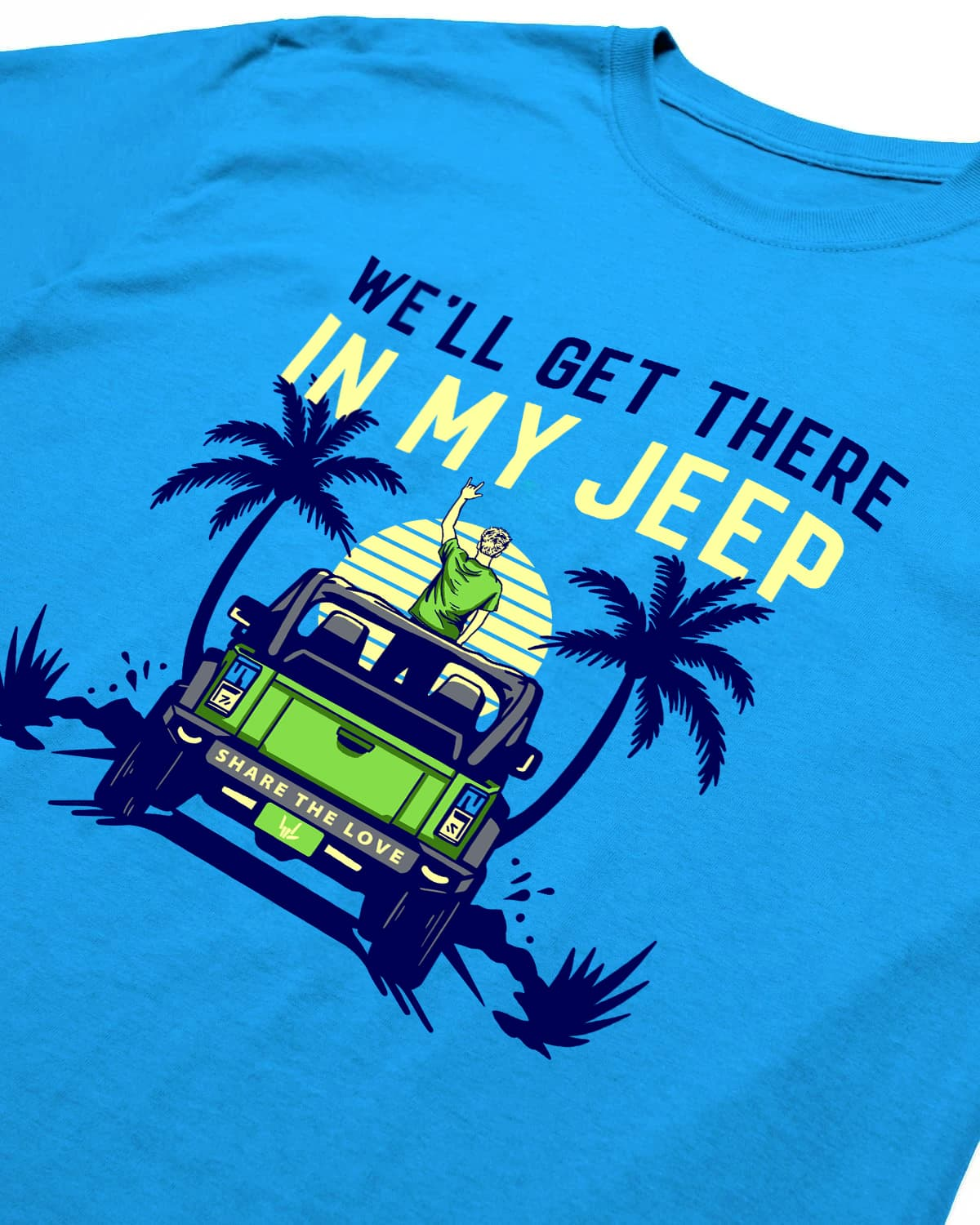 'In My Jeep' Tee