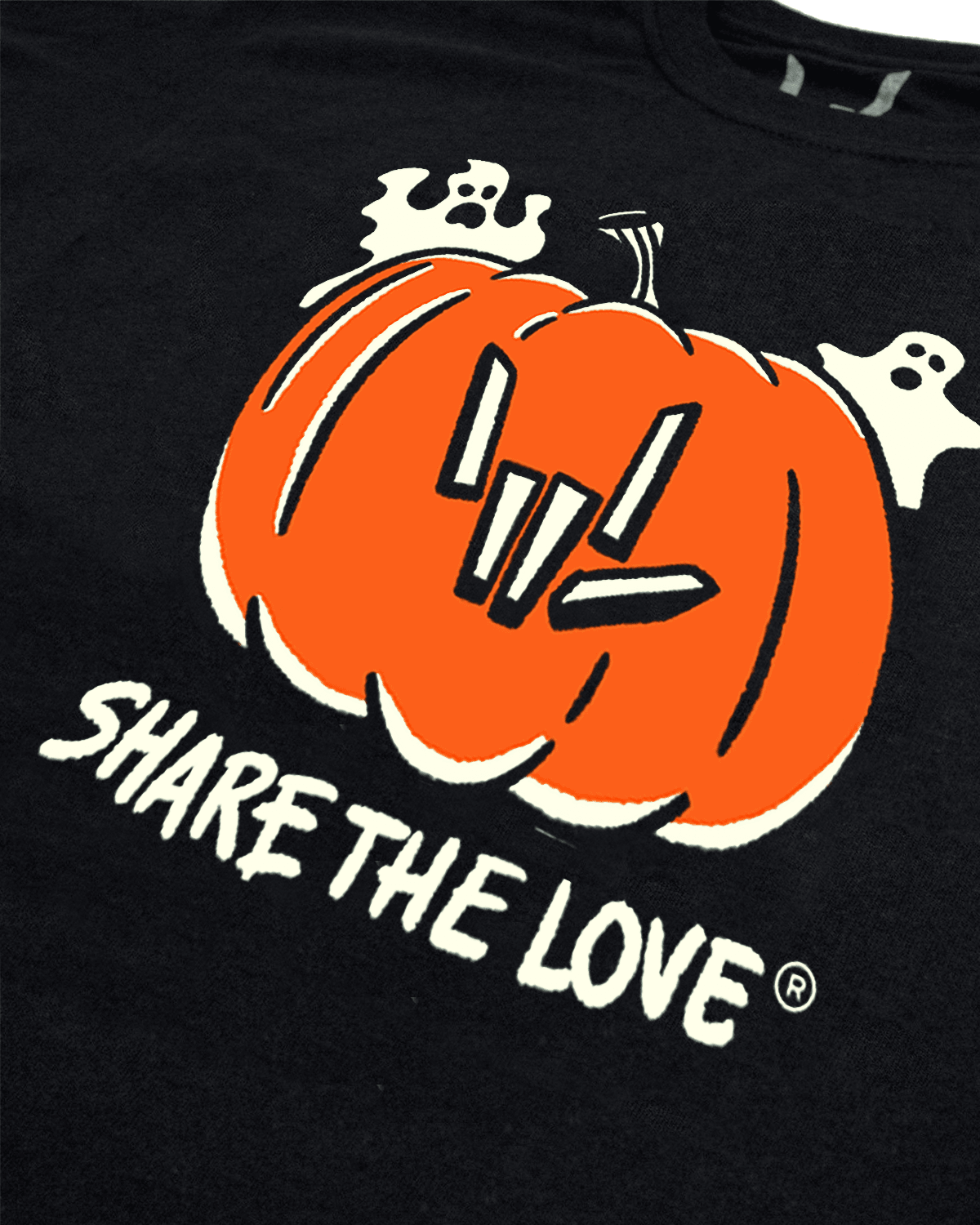 'Share The Love' Glow In The Dark Youth Tee - Limited Edition