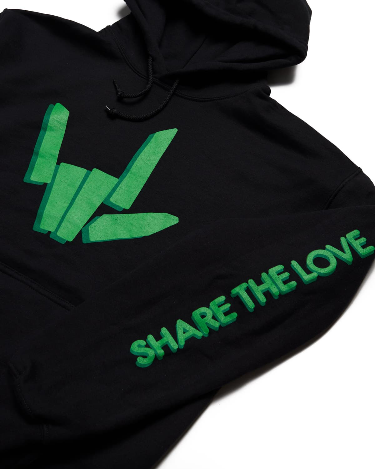 Share The Love Hoodie - Black
