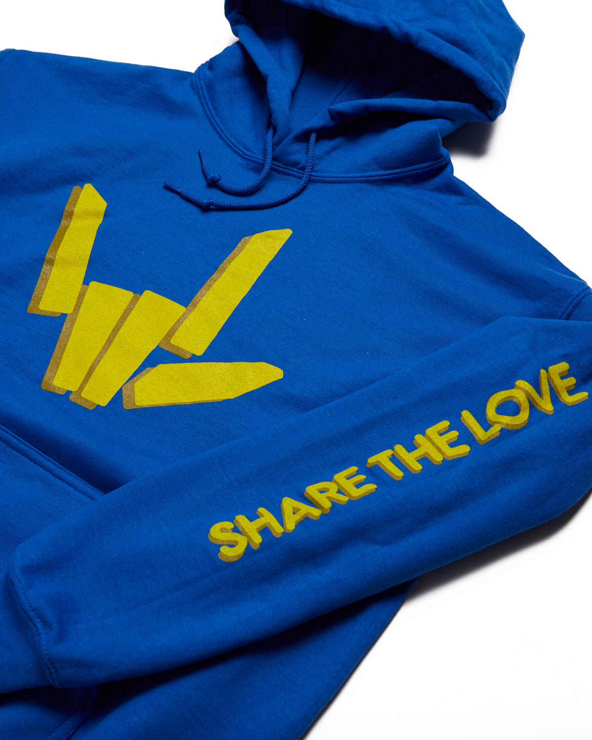 Share The Love Hoodie - Blue