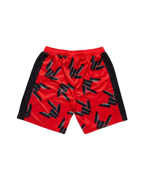 Share The Love Shorts - Red