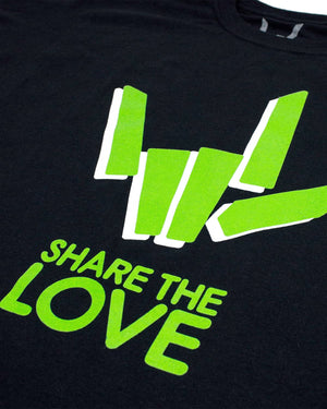 'Share The Love' Tee - Black