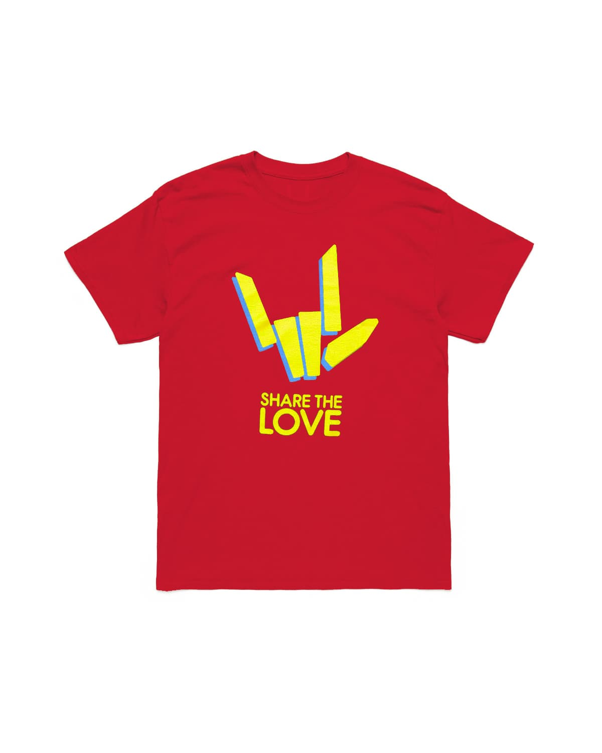'Share The Love' Tee - Red