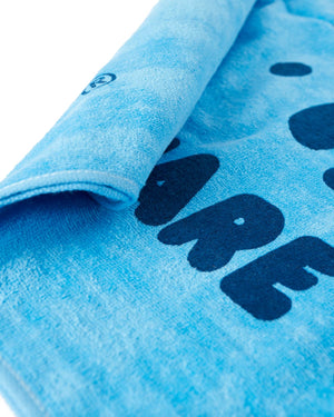 Share The Love Beach Towel - Blue