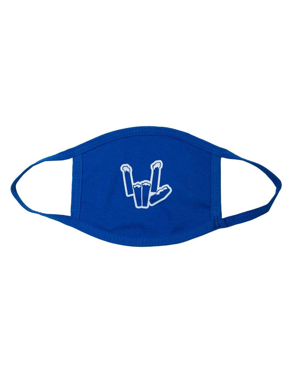 'Snowcap' Youth Face Mask - Blue