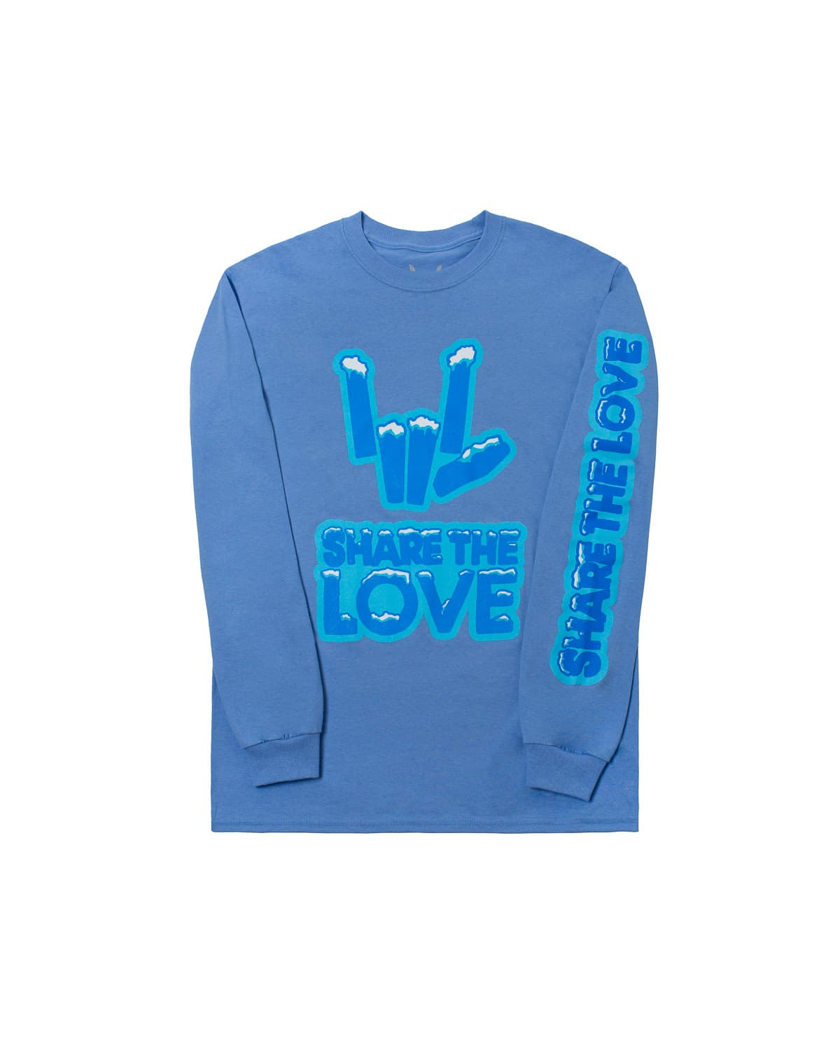 'Snowcaps' Share the Love Long Sleeve Tee