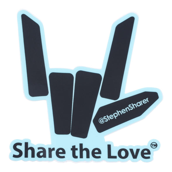 Share the Love Mega Sticker Pack (12 Pack) - StephenSharer