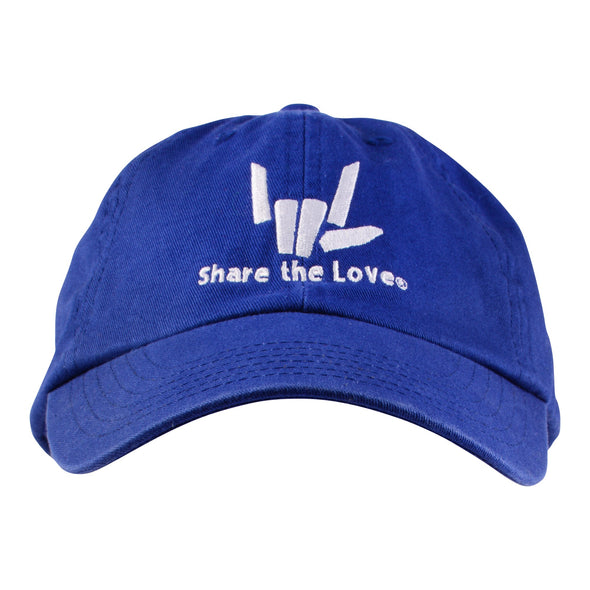Share the Love Baseball Cap (Blue)