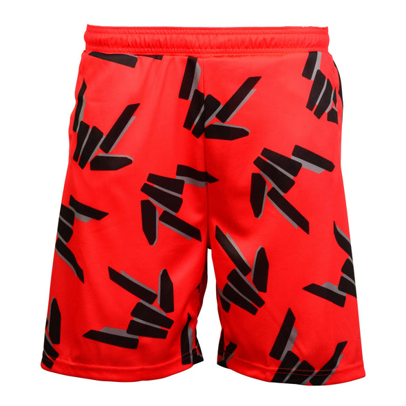 Share the Love Athletic Shorts (Red)
