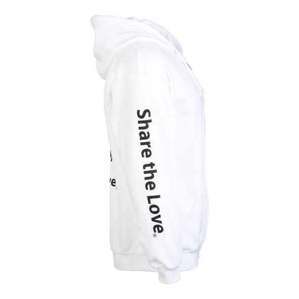 Share the Love Summer Zip Up Hoodie