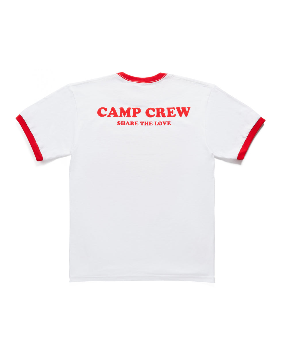 Camp Sharer Glow In The Dark Ringer Tee