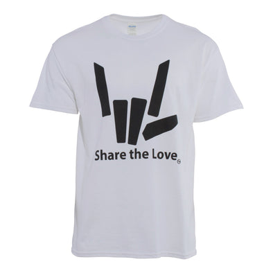 Signature Share the Love Tee (White)