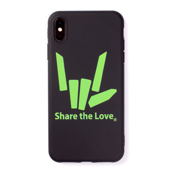 Signature iPhone Case - Black