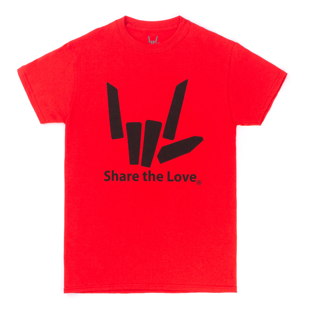 SHARE THE LOVE  BLACK T SHIRT CHILD //ADULT SIZES YOUTUBERS STEPHEN SHARER CARTER