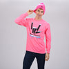 Share the Love Pom Pom Beanie (Pink) - StephenSharer