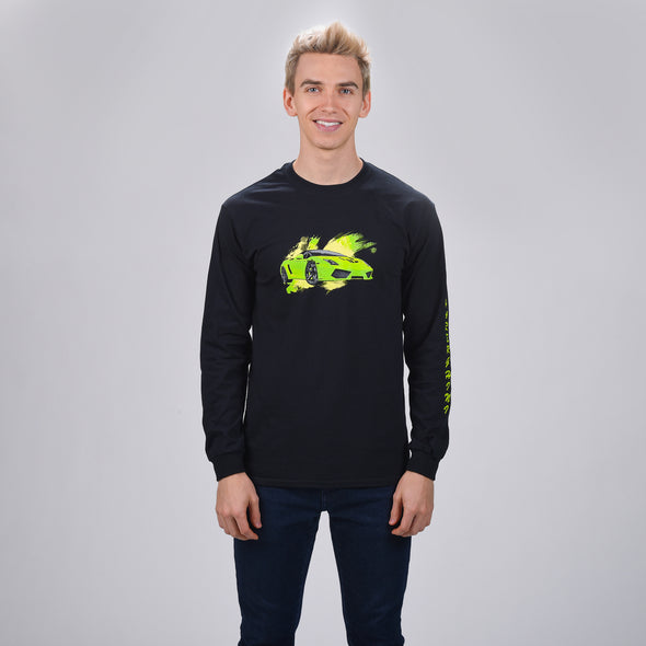 Sharerghini Water Paint Long Sleeve